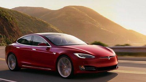 PHOTO: Electric Car - Tesla Model S