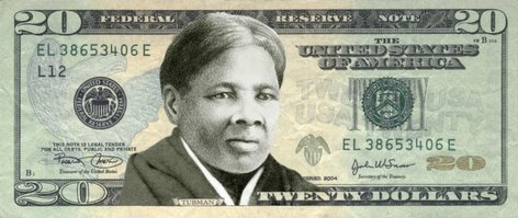 PHOTO: USA 20 dollar bill - Harriet Tubman