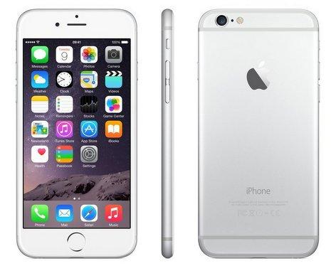 PHOTO: Apple iPhone 6 Silver