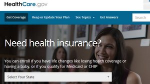 Healthcare Gov Blog site