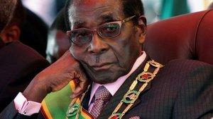 Robert Mugabe resigns as President of Zimbabwe, ending 37-year rule