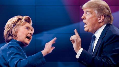 PHOTO: Donald Trump and Hillary Clinton